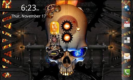 Crânio Steampunk grátis - Imagem 1 do software