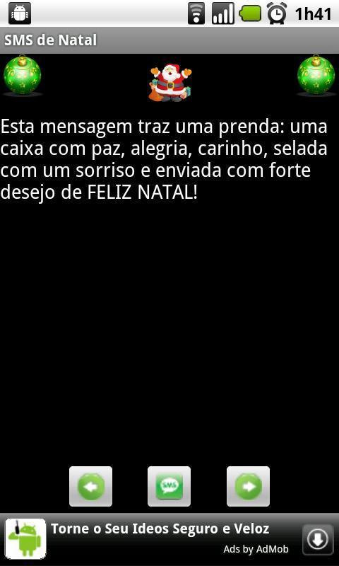 SMS de Natal - Imagem 1 do software