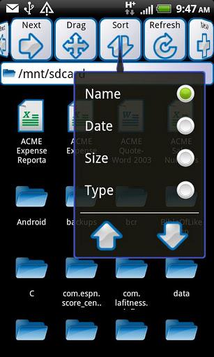 ASTRO File Manager - Imagem 7 do software