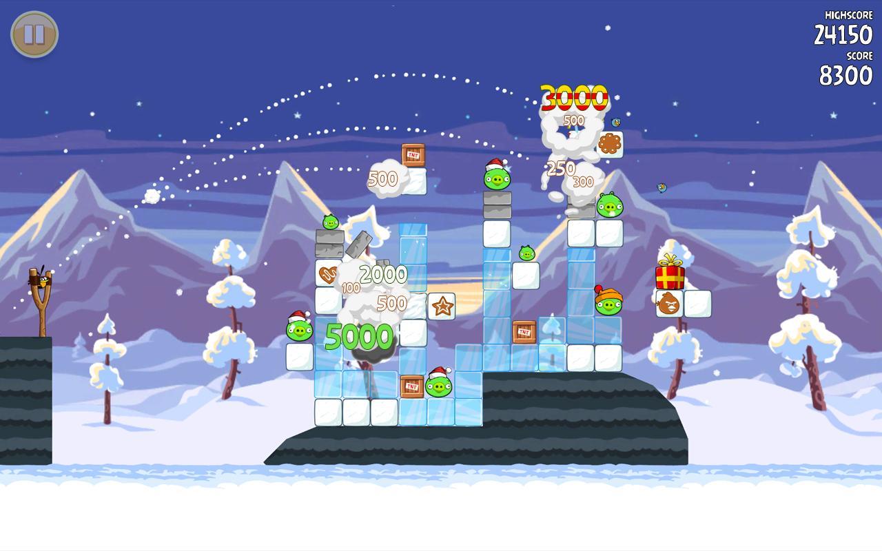 Angry Birds Seasons - Imagem 2 do software