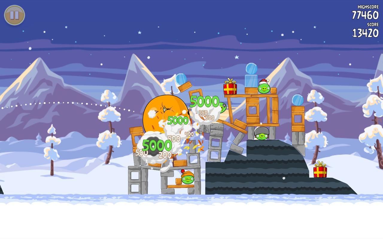 Angry Birds Seasons - Imagem 1 do software