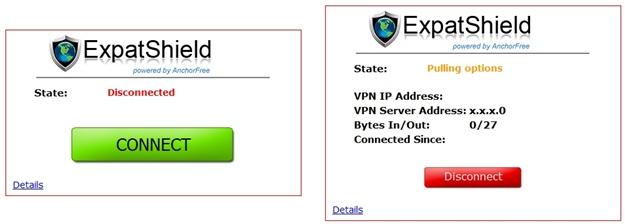 ExpatShield - Imagem 3 do software