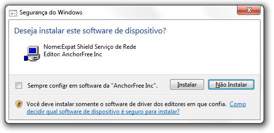 ExpatShield - Imagem 2 do software