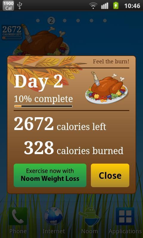 Burn the Turkey - Widget - Imagem 1 do software