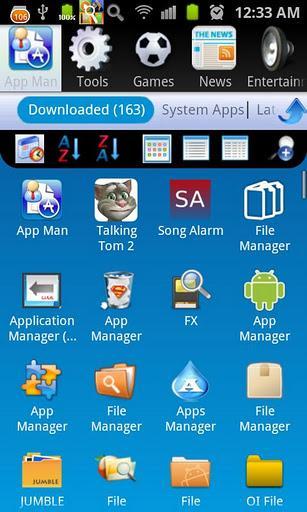AppMan: Your Apps Organizer - Imagem 1 do software