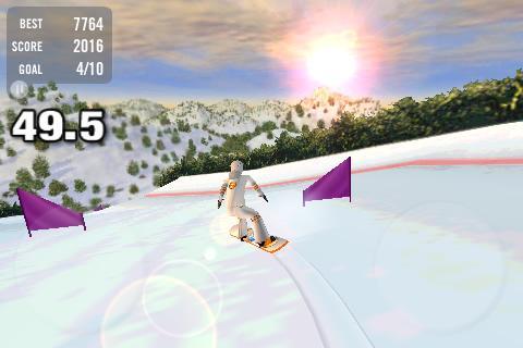 Crazy Snowboard - Imagem 2 do software