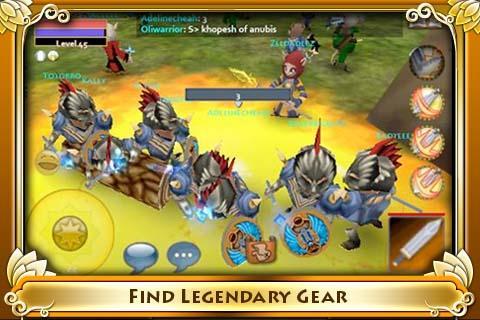 Pocket Legends - Imagem 3 do software