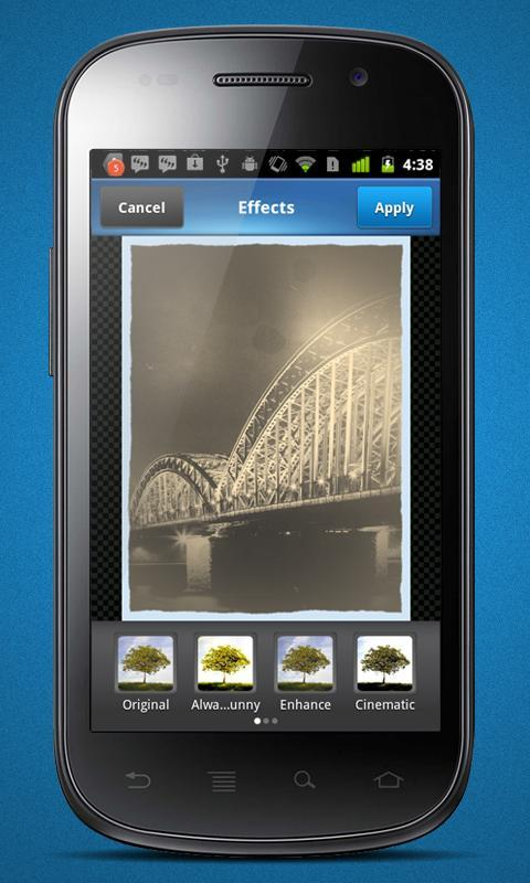 Photo Effects Plugin by Aviary - Imagem 2 do software