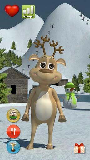 Talking Prancer Reindeer Free - Imagem 1 do software