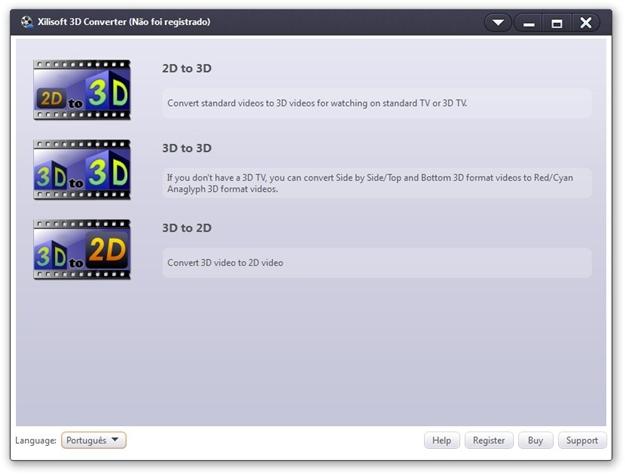 Xilisoft 3D Video Converter.