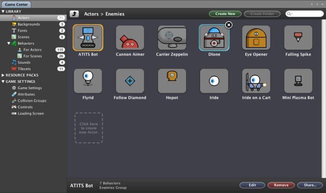StencylWorks - Imagem 1 do software