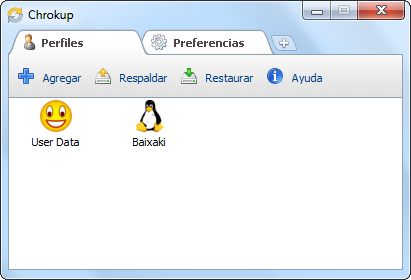 Chrokup - Imagem 1 do software