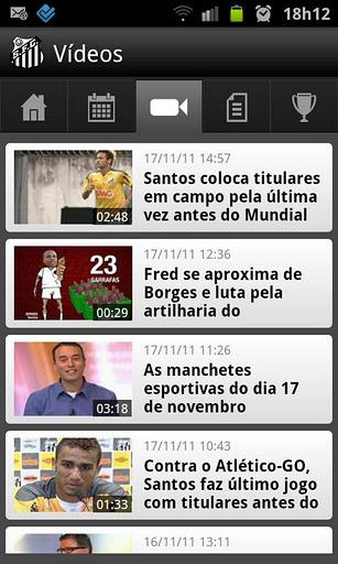 Santos SporTV - Imagem 2 do software