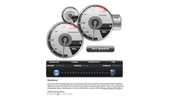 DSL speedtest