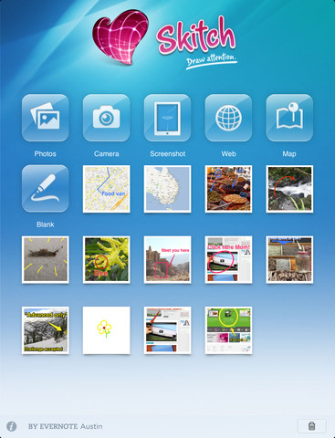 Skitch for iPad - Imagem 1 do software