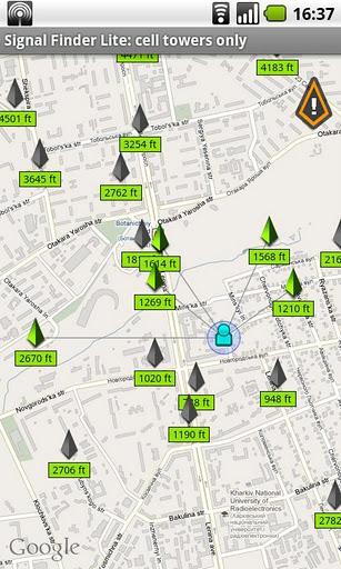 Signal Finder - Imagem 2 do software