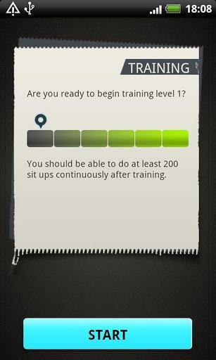 Sit Ups pro - Imagem 2 do software