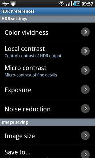 HDR Camera - Imagem 2 do software