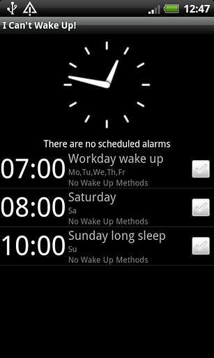 I Can´t Wake Up! Despertador - Imagem 1 do software
