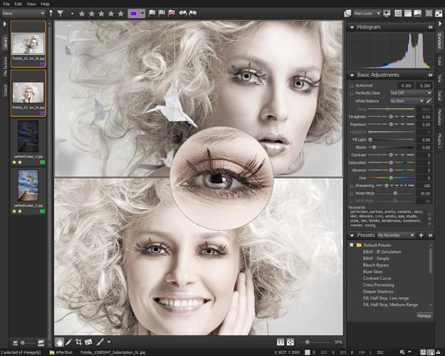 Corel AfterShot Pro.