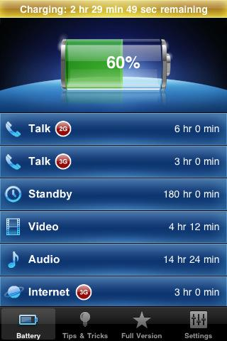 Battery Manager FREE - Imagem 1 do software