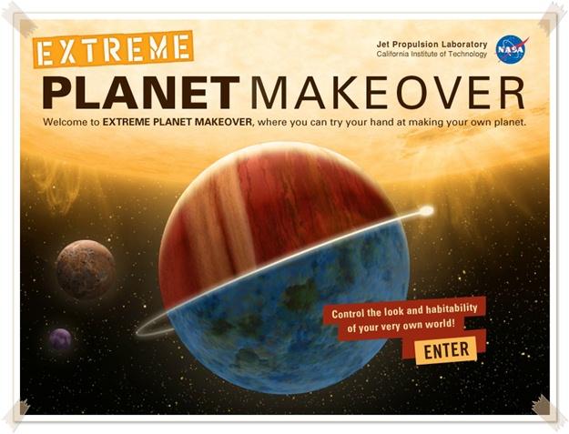 Extreme Planet Makeover - Imagem 1 do software