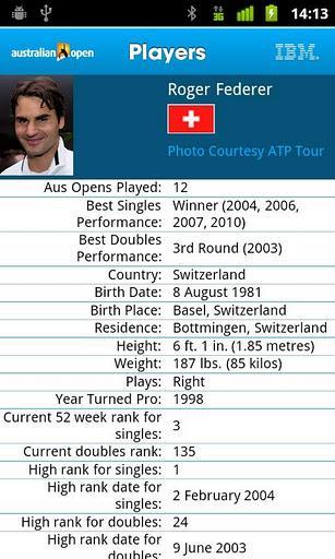 2012 Australian Open - Imagem 2 do software