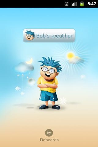 Bob`s Weather - Imagem 1 do software