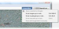 Google Earth 6.2 - compartilhando