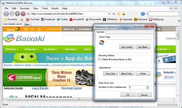 NetGroove - Imagem 2 do software