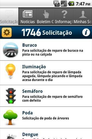 1746 Rio - Imagem 1 do software
