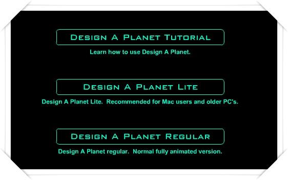 Design a planet - Imagem 2 do software