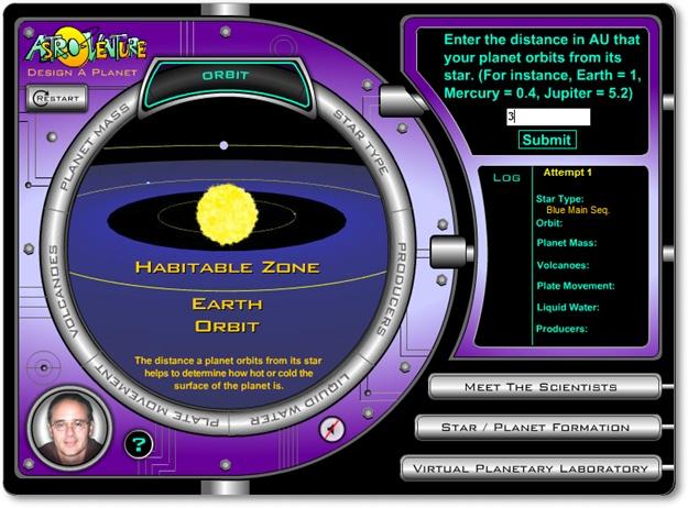 Design a planet - Imagem 3 do software