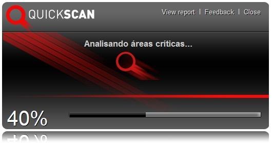 BitDefender QuickScan para Google Chrome - Imagem 1 do software