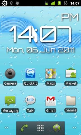 HydroTilt Live Wallpaper Free - Imagem 1 do software