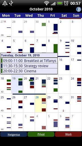 Business Calendar Free - Imagem 1 do software