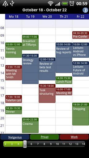 Business Calendar Free - Imagem 2 do software