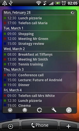 Business Calendar Free - Imagem 4 do software