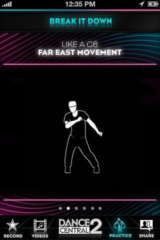 Dance Central 2 DanceCam - Imagem 4 do software