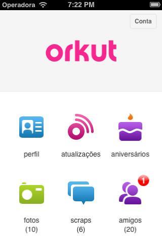 Orkut para iPhone - Imagem 1 do software