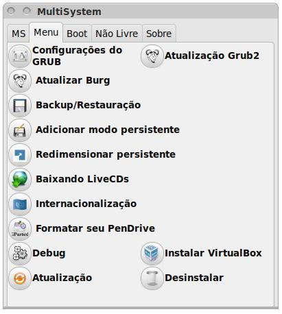 MultiSystem - Imagem 2 do software