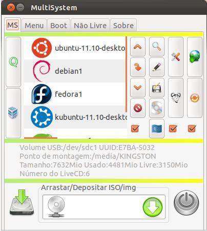 MultiSystem - Imagem 3 do software