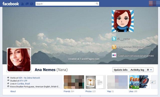Crie uma capa personalizada para o Facebook