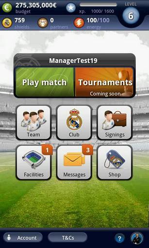 Real Madrid FantasyManager 14 - Imagem 2 do software