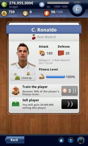 Real Madrid FantasyManager 14 - Imagem 3 do software