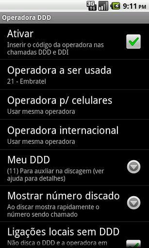 Operadora DDD - Imagem 1 do software