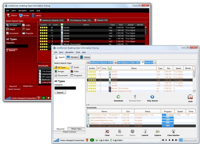 LimeRunner - Imagem 5 do software