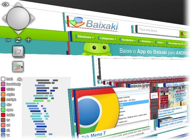 Visualize as camadas e entranhas de qualquer site!