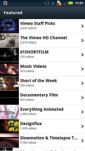 Vimeo - Imagem 1 do software