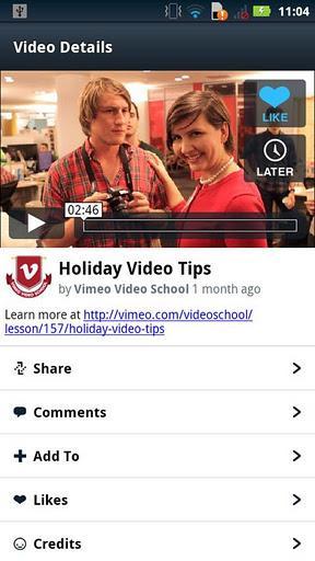 Vimeo - Imagem 4 do software